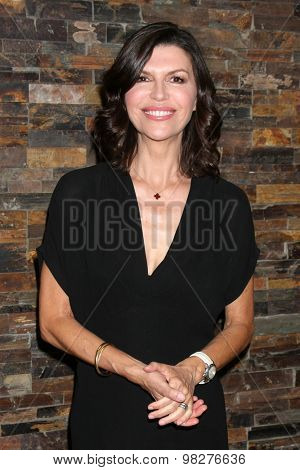 LOS ANGELES - AUG 8:  Finola Hughes at the General Hospital Fan Club Luncheon Arrivals at the Embassy Suites Hotel on August 8, 2015 in Glendale, CA