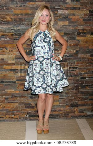 LOS ANGELES - AUG 8:  Emme Rylan at the General Hospital Fan Club Luncheon Arrivals at the Embassy Suites Hotel on August 8, 2015 in Glendale, CA