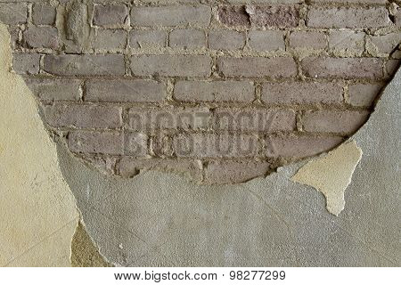 Brick And Concrete Wall