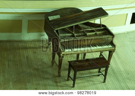 Old Concert Piano