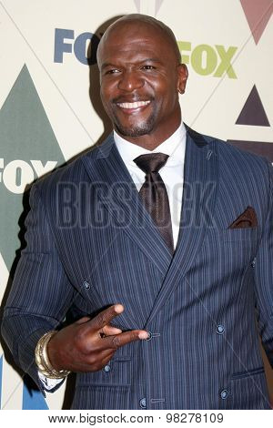 LOS ANGELES - AUG 6:  Terry Crews at the FOX Summer TCA All-Star Party 2015 at the Soho House on August 6, 2015 in West Hollywood, CA