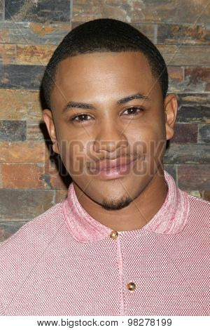 LOS ANGELES - AUG 8:  Tequan Richmond at the General Hospital Fan Club Luncheon Arrivals at the Embassy Suites Hotel on August 8, 2015 in Glendale, CA