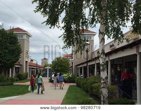 Wrentham Village Premium Outlets in Massachusetts