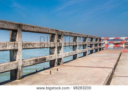 Concrete Bridge Railing