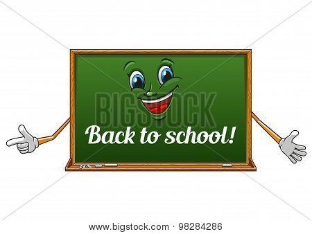 Cartoon isolated school blackboard icon