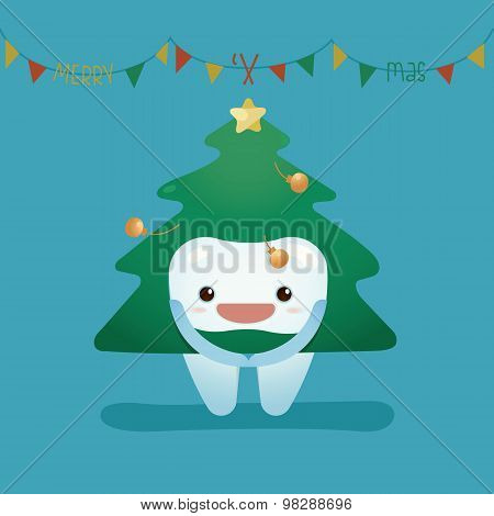 Tooth wear christmas suite