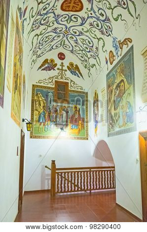The Monastery Interior