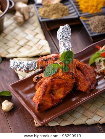 Spicy Indian Tandoori Chicken
