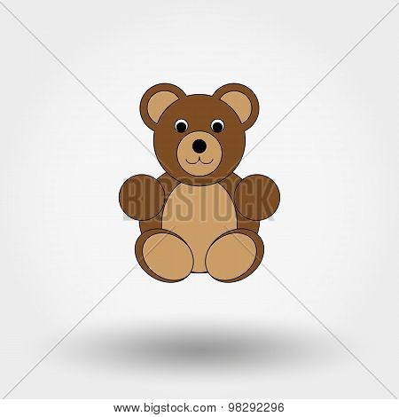 Teddy bear toy.