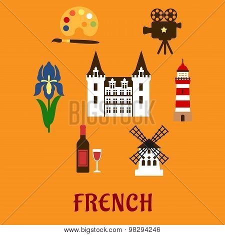 France cultural and historical symbols