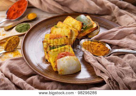Indian Street Food Paneer Tikka