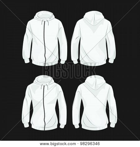Hoody For Men And Women Front And Back