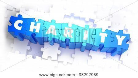 Charity - Word on Blue Puzzles.