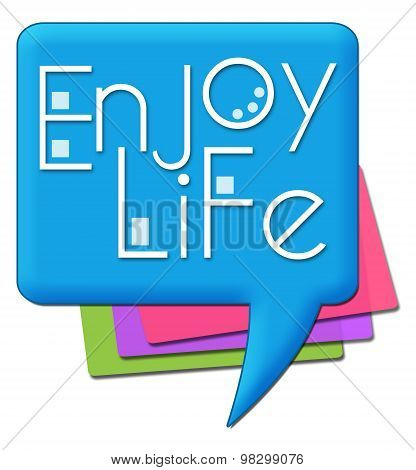Enjoy Life Colorful Comment Symbols