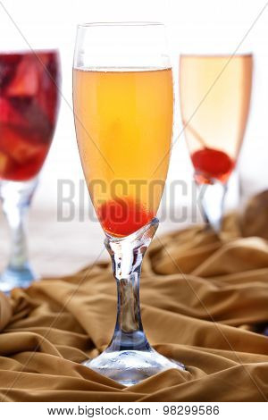 A Glass Of Grand Mimosa