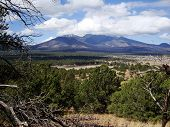 San Francisco Peaks at Flagstaff, Arizona