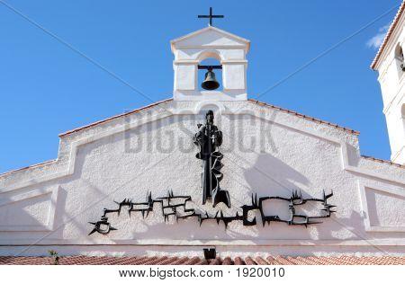 Spanish Church On The Costa Del Sol