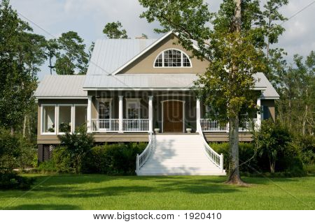Acadian-Styled Home