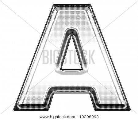 capital letter A