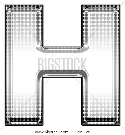 capital letter H