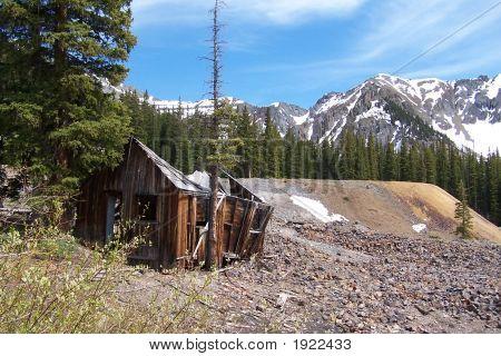 Cabana abandonada mineiro