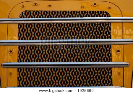 Radiator Grille In Yellow
