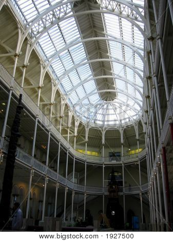 Main Hall Of The Royal Museum Of Scotland, Edinburgh