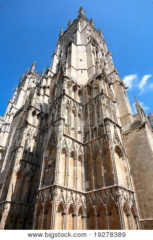 Gothic Cathedral in York, England