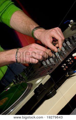 DJ mix master