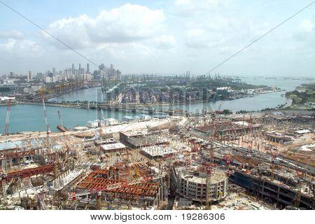 Singapore city construction