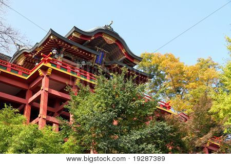 Japanese temple in Kyushu.