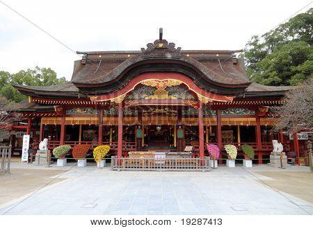 Japanese shrine in Kyushu - Dazaifu Tenmangu