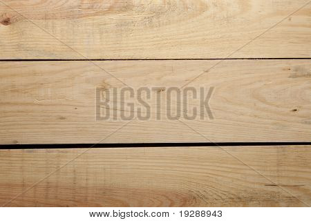 Wood plank texture closeup with gaps between boards