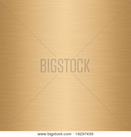 a large sheet of lightly brushed gold textured metal