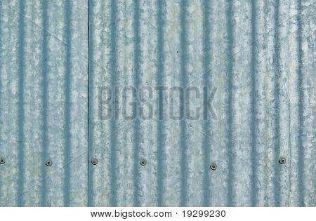 grande folha de ferro galvanizado ou ondulado