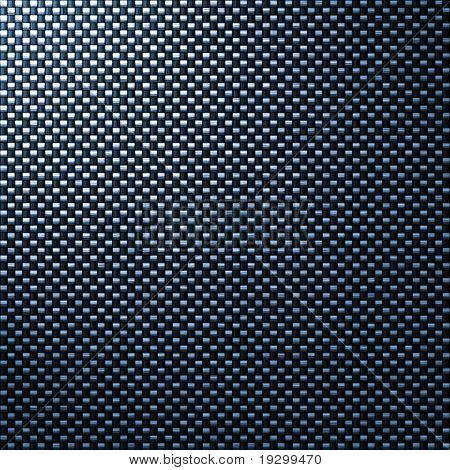 detailed tightly woven carbon fibre background texture