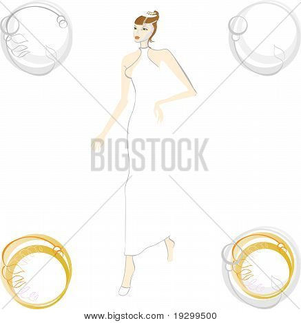 Bride And Wedding Rings