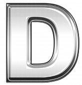 picture of letter d  - capital letter D - JPG