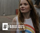 Hashtag Awesome Fabulous Cool Word poster