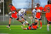 Boys Lacrosse tumbling down