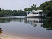 Houseboat On Suwannee River