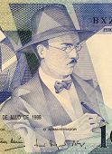 PORTUGAL - CIRCA 1988: Fernando Pessoa (1888-1935) on 100 Escudos 1988 Banknote from Portugal. Portu