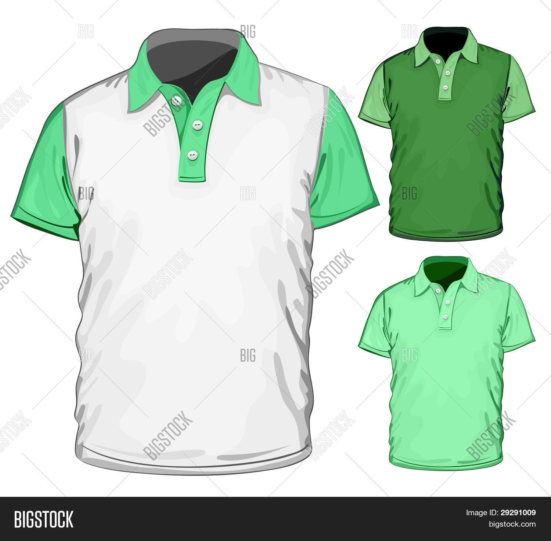 Polo shirt design vector - Vector Men S Polo Shirt Design Template