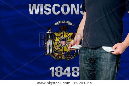 Recession Impact On Young Man And Society In American State Of Wisconsin