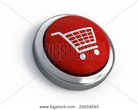 Einkaufswagen-Schaltfläche