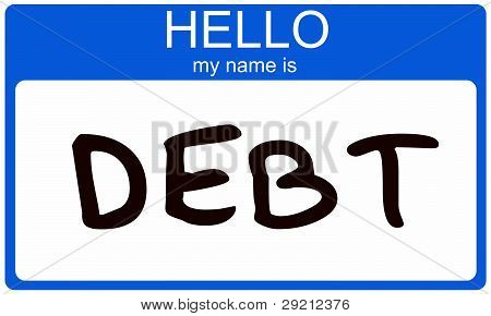 Hello My Name Is Debt