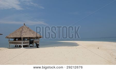 Beach Hut in Bohol Island Philippines