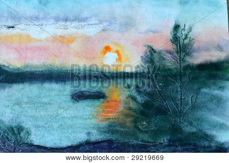 Waterccolor Landscape