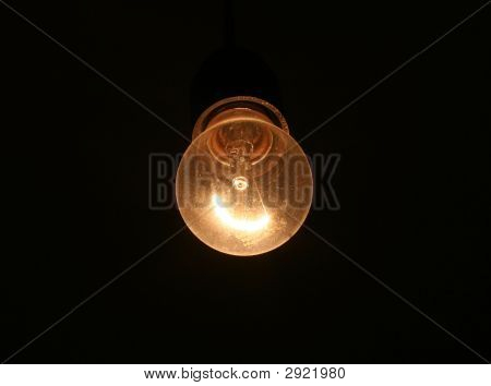 Lonely Electric Bulb