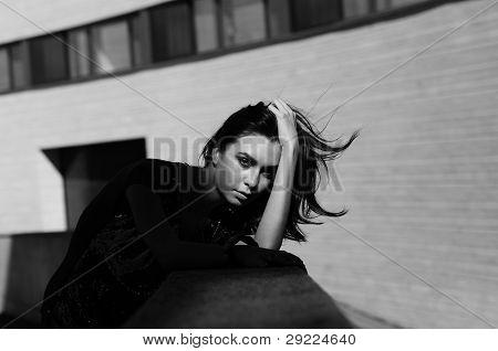 Dejection In Monochrome